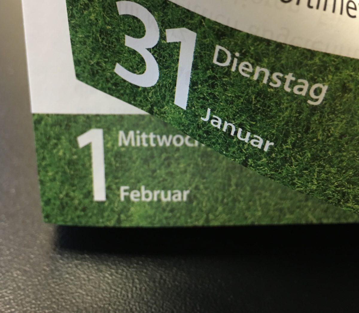 Januar 2017 in der Zusammenfassung