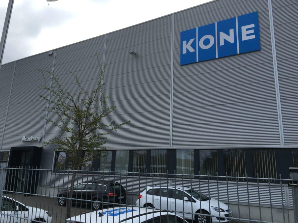 In der Kone Academy in Hannover finden Schulungen für Mitarbeiter statt