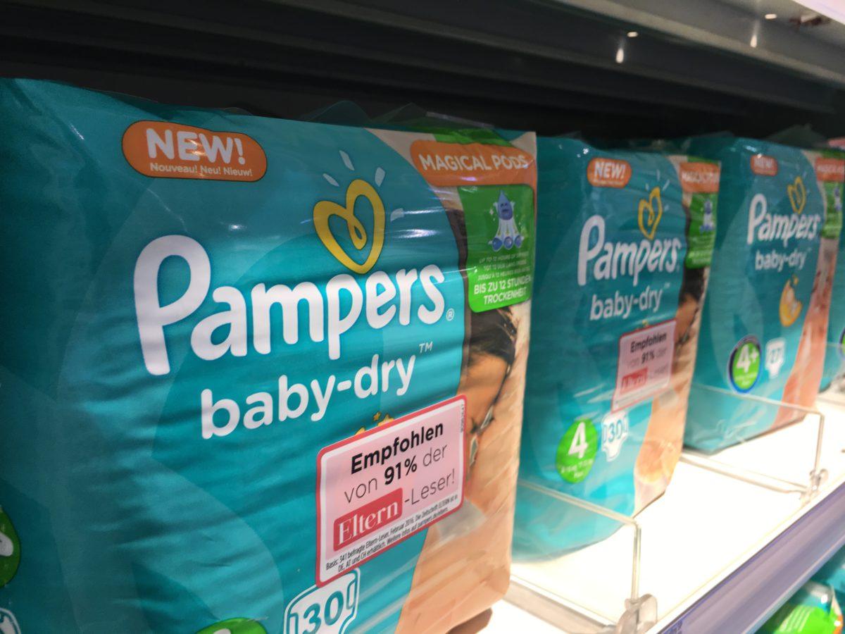 Noch mehr Windeln für das Divantis-Depot: Procter & Gamble vorgestellt