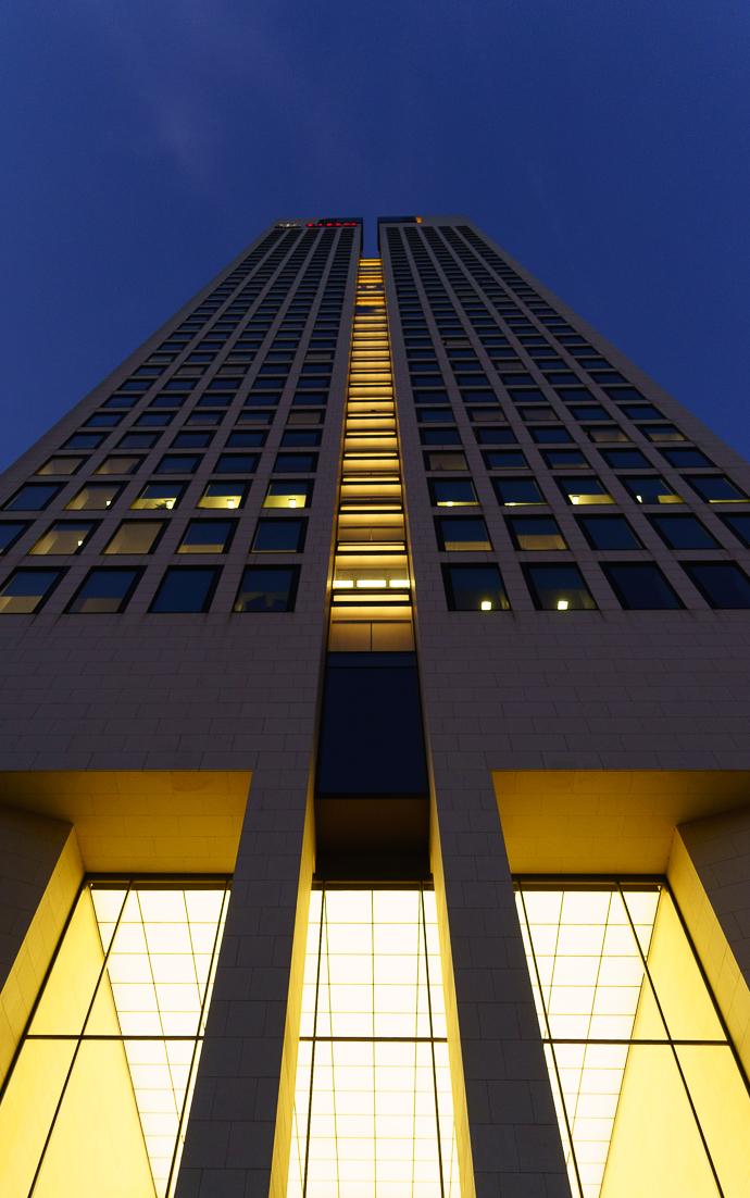 Der Deutschland-Sitz von BlackRock im OpernTurm in Frankfurt.