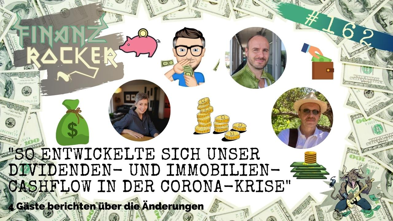 Episode 162 des Finanzrocker-Podcasts mit Ben Warje u.a.