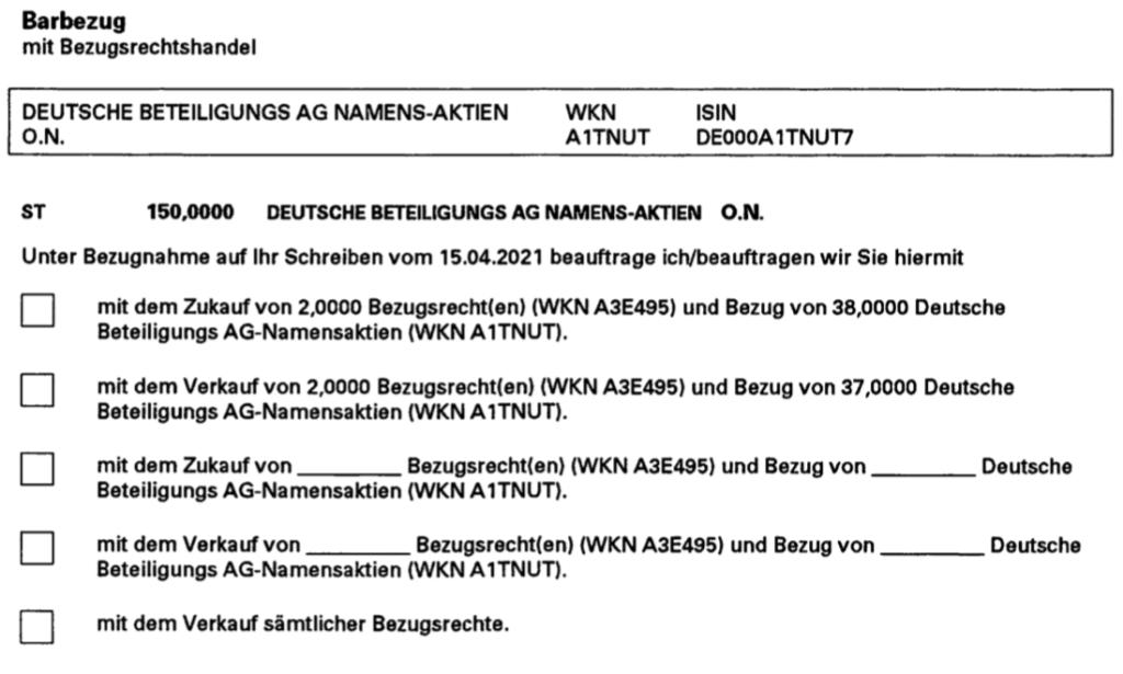 Deutsche Beteiligungs AG Kapitalerhöhung